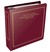 SMSF Register binders and tab divider sets